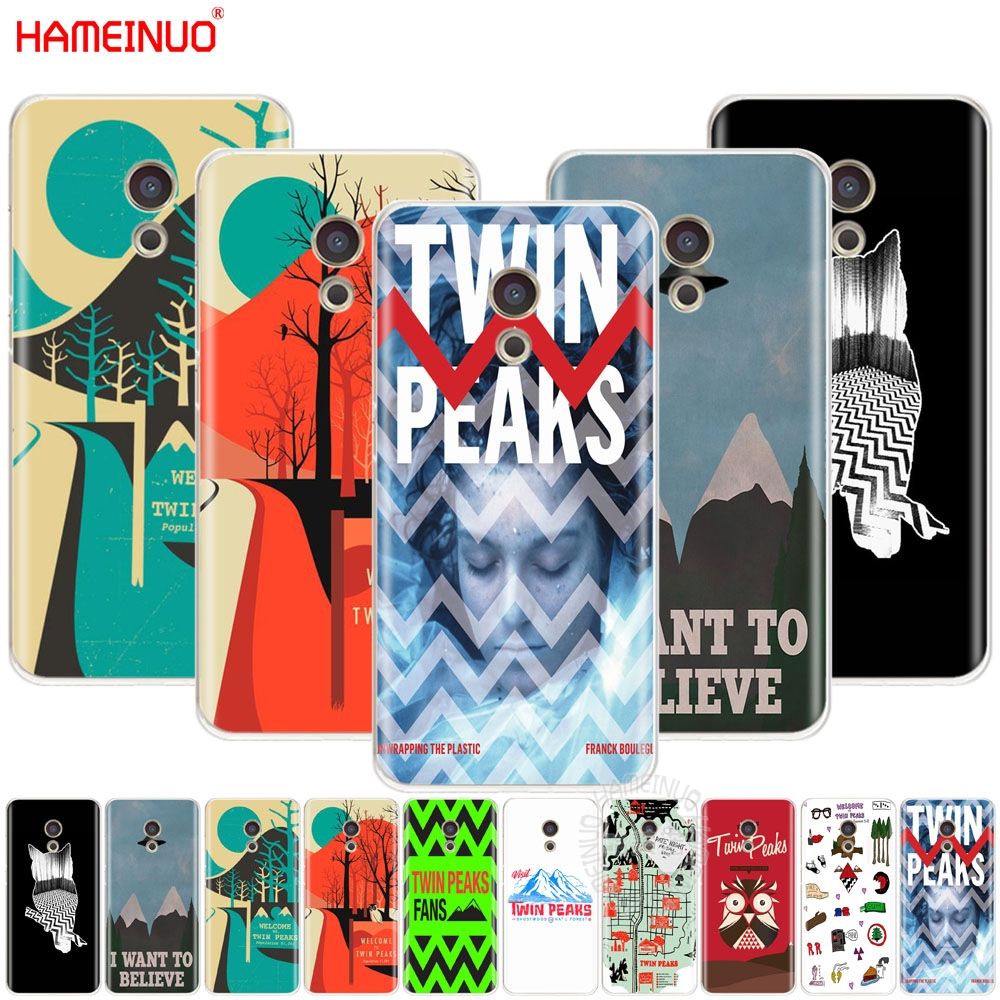 HAMEINUO welocme to the twin peaks Cover phone Case for Meizu M6 M5 M5S M2 M3 M3S MX4 MX5 MX6 PRO 6 5 U10 U20 note plus