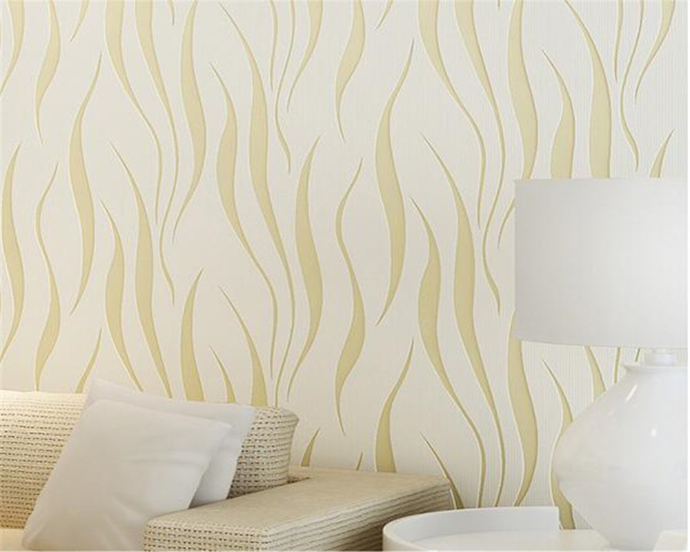 . US  30 87 37  OFF Beibehang Modern simple wallpaper living room wallpaper  water ripple purple yellow bedroom 3D sofa TV wall 3d wallpaper roll in