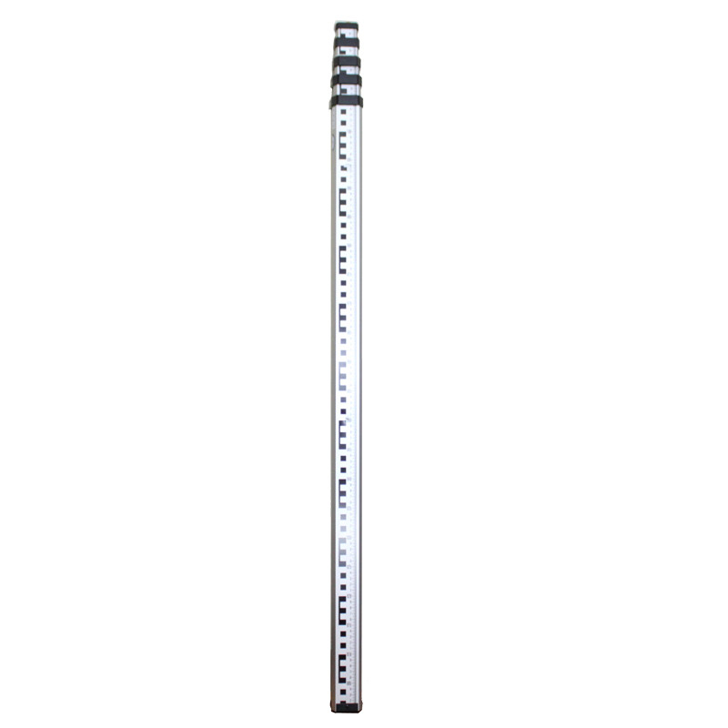 5 m water level ruler tower foot aluminum tower foot round tower foot level ruler dark tower
