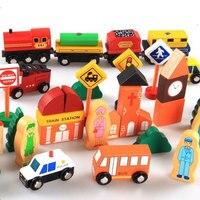 Situation Ville Bloquer Le Trafic En Bois Magnétique Thomas Train Jouets Pour Enfants Jouet Modèle De Voiture Apprentissage Educatioanl Enfants Jouets