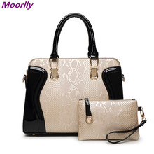 Moorlly 2016 New arrived  pu leather handbags women famous brands messenger bags Fashion female Tote