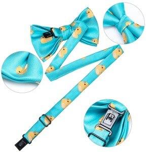 Image 3 - DiBanGu/Лидер продаж, 3 предмета, галстук бабочка шелковые галстуки бабочки, модные галстуки бабочки для маленьких детей, галстук бабочка, синий, красный, зеленый, галстук бабочка