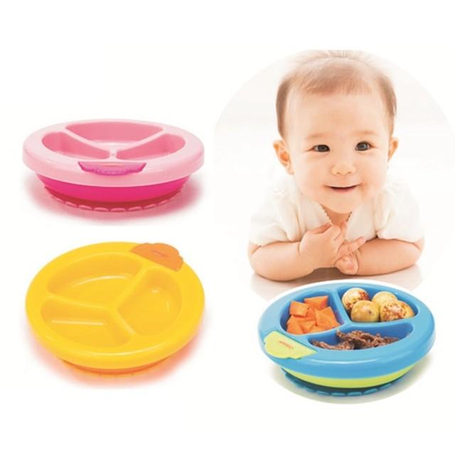 Crianças Tigela Ventosa Garoto Bebê Preservação Do Calor Pratos Auxiliar de Alimentos 1 PC Nova Chegada de Aprendizagem Da Criança Do Bebê