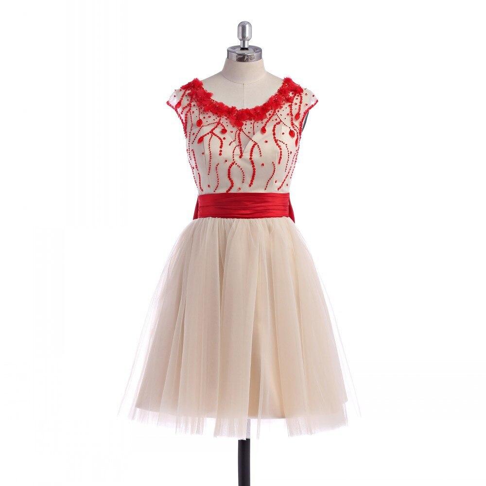 Vestidos coral para graduacion primaria