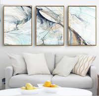 Moderne Einfache Abstrakte Psychedelic Linie Kunst Leinwand Malerei Poster Hause Dekoration für Wohnzimmer Kein Gestaltet