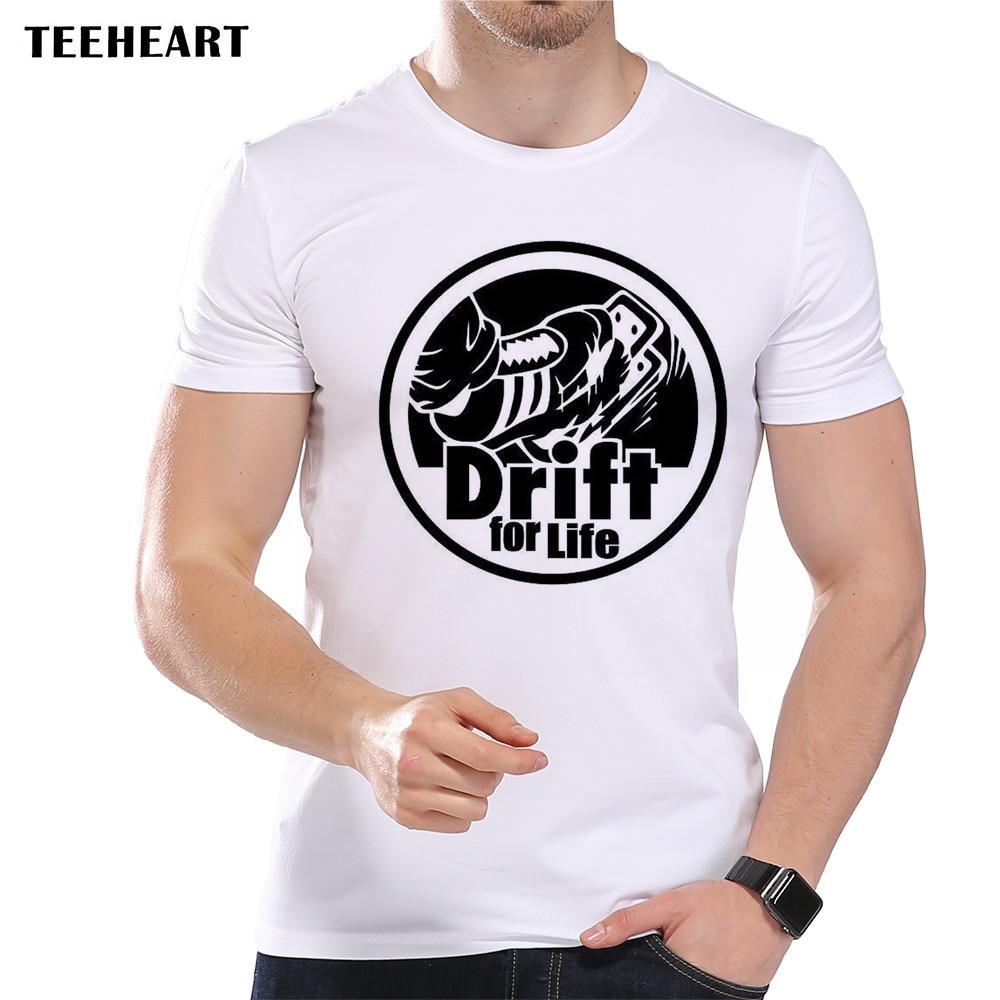 Gt86 design t shirts men s t shirt - Teeheart Men S Drift For Life Design T Shirt Cool Tops Short Sleeve Car Lover Hipster Cool Tees La470