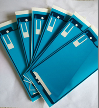 Wholesale 50 pcs lot Front Housing Frame Bezel Plate lcd Adhesive Sticker for Sony Xperia Z