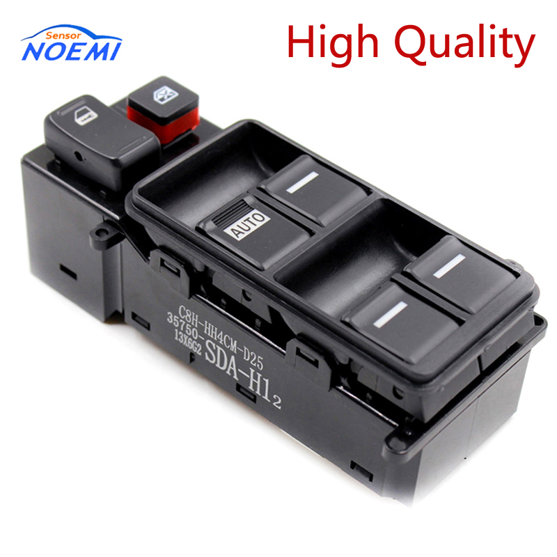 YAOPEI OEM 35750-SDA-H12 For Honda Accord 2003-2007 Auto Electric Power Window Switch Master Controller Switches 35750SDAH12