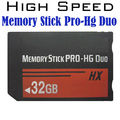 Free shipping Real Capacity MS HG 1/2/4/8/16GB 32GB 64GB Memory Stick Pro Duo Memory Cards for sony psp phone tablet camera