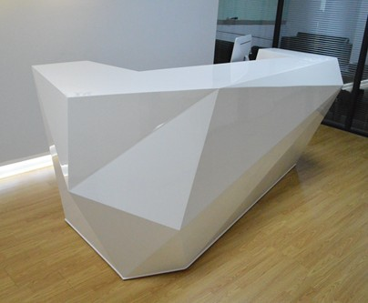 wood reception counter table design for reception area #2355-in Reception  Desks from Furniture on Aliexpress.com | Alibaba Group