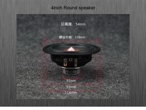Image 2 - 2 Pçs/lote Sounderlink 4 polegadas full range speaker woofer tweeter midrange driver para Diy HiFi monitor de palco sistema de áudio
