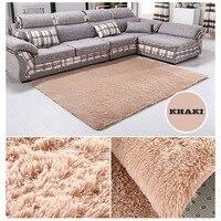 Large 160*230cm Bedroom Carpet Plush Shaggy Soft Carpet Area Rugs Floor Mats Home Warm Plush Floor Rugs fluffy Mats