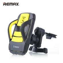 Remax автомобилей Air Vent Mount мобильный телефон держатель для iPhone 5S 6S 360 градусов Поворот Мини Размеры стабильный кронштейн руки бесплатная безопасного вождения
