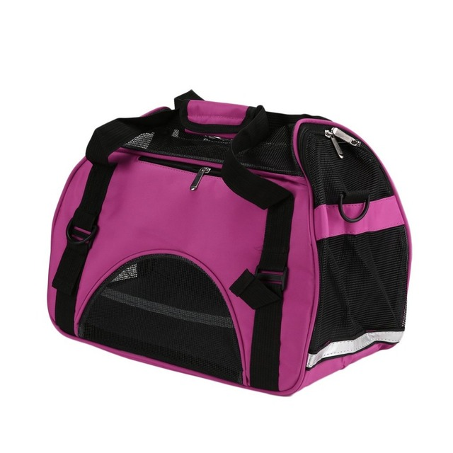 Portable Outdoor Travel Dog Bags Oxford Cloth Pet Carrier Bag Mesh Breathable Pet Carrier Bag Backpack For S/M Dogs Pet Supplies