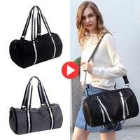 New Gym Bag For Women Outdoor Single Shoulder Fitness Bag Travel Bag For Men Handbag With