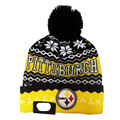 Knitted Hats Winter Cotton Hat Embroidery pittsburgh Wool Cap Warm Men And Women Hip-hop Hat