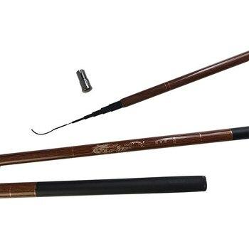 New Fishing Rod Ultra Light Stream Telescopic Carbon Fiber Feeder Fishing Rod Carp Pole 3.6M 4.5M 5.4M 6.3M 7.2M Fishing Rod