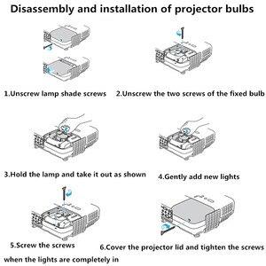 Image 4 - Zr qualidade superior P VIP 190/0.8 e20.9n/RLC 092 100% original lâmpada do projetor/lâmpada para pjd5153/pjd5155/pjd5255