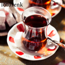 Turkish Folk Classic Tulip-shaped Teacup