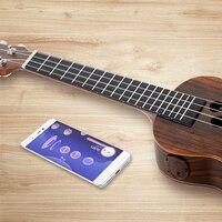 Intelligent Ukulele S1 APP 23 Inch Smart Ukulele Uke For Beginner All Rosewood Add Pickup 4