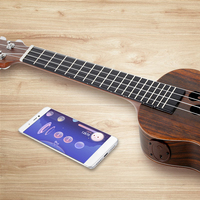 Intelligent Ukulele S1 APP 23 Inch Smart Ukulele Uke For Beginner All Rosewood Add Pickup 4
