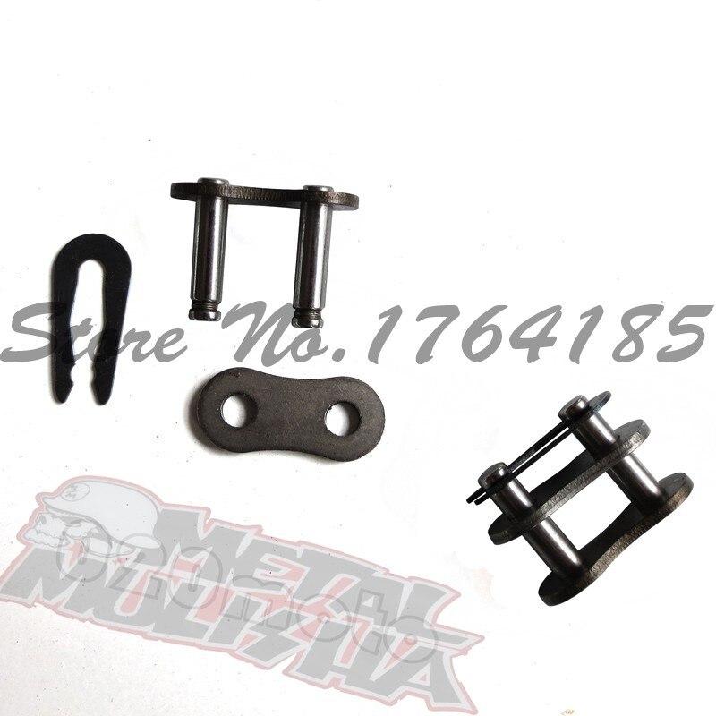 ̿̿̿(•̪ )KMC 520 cadena alto rendimiento negro dirt bike cadena ...