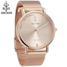 Women Watches Brand Top Luxury Ultrathin 40mm Casual Rose Gold Quartz Wristwatches Relogio Feminino Montre Femme Relojes