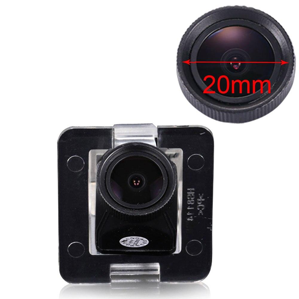 1000 التلفزيون خطوط 20 مللي متر عدسة احتياطية الرؤية الخلفية سيارة كاميرا لمرسيدس بنز GLK300 350X204 S الفئة w220 W221 W222 S250 S300 S320 S350
