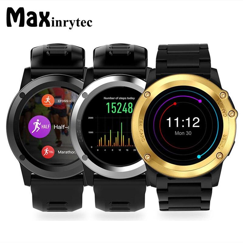 Maxinrytec étanche GPS Smartwatch Android montre intelligente montre-bracelet 3G SIM WiFi Sport Fitness 5MP caméra résistant à l'eau MX1