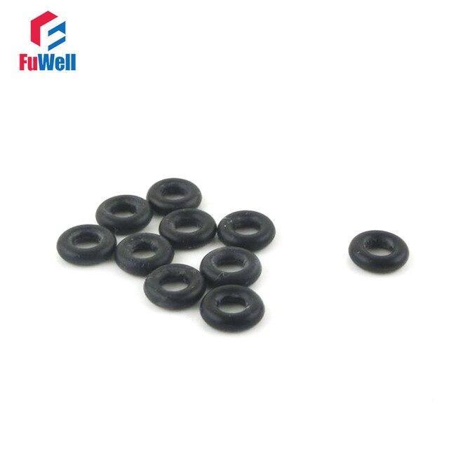 50 unids piezas de 3mm de espesor de goma de nitrilo O sello de anillo 62/63/65/68/70/72/73/75/77mm 78 NBR arandela de junta de sellado