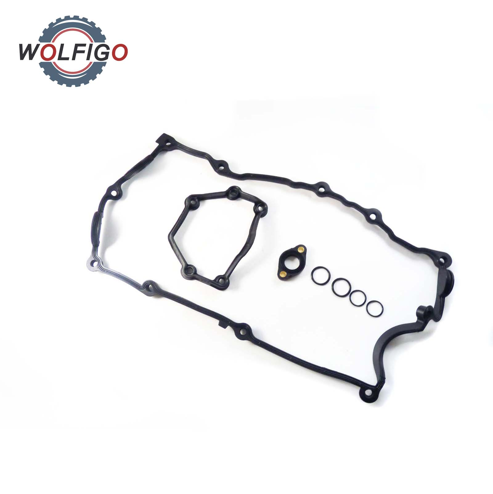 WOLFIGO Engine Camshaft Adjuster Seal Gasket Cylinder Head