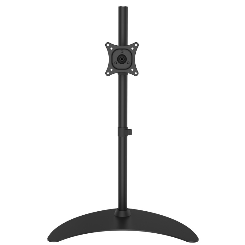 Aluminum Alloy Full Motion Table Desk Stand 10-24 Monitor Holder Height 800mm Loading 15kgs ML1001-80 aluminium alloy headset stand holder
