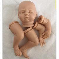 18inch Simulation Reborn Doll Kits DK 80 Handmade DIY Silicone Reborn Doll Kit Reborn Dolls Babies Kits for Sleeping Reborn Doll