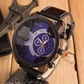 Watches Men Creative Fashion Mens Watches Top Brand Luxury Leather Sport Military Quartz Watch Clock Men Relogio Masculino