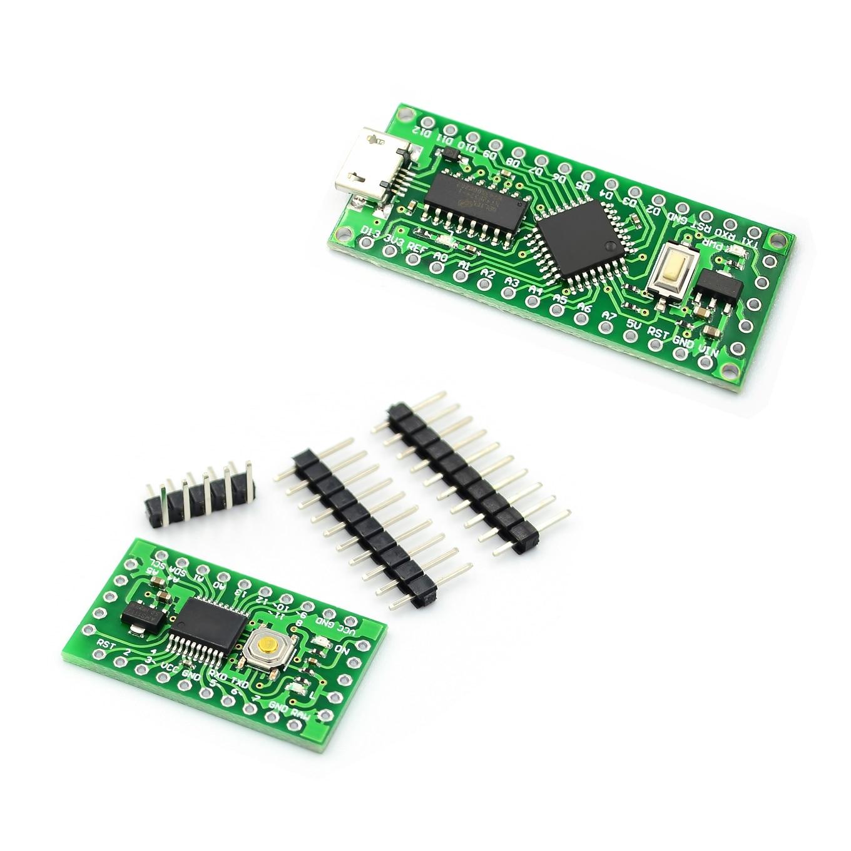 LGT8F328P-LQFP32 MiniEVB Alternative Arduino Nano V3 0 ATMeag328P  HT42B534-1 SOP16 USB Driver Good Quality and Cheap Price