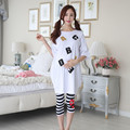 Loose Plus Size Pregnancy Women Nursing Lounge Sleepwear Maternity Spring Summer Dress Leggings Set Woman Breast Feeding Pajamas