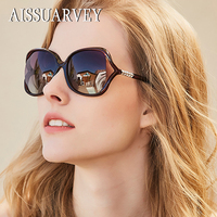 2018 Luxury Acetate Fashion Polarized Sunglasses for Woman Top Quality Girls Lady Brand Butterfly Rhinestone Goggles Sun Glasses