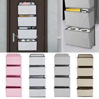 4 Grids Wall Opknoping Organisator Opbergtas Home Decor Deur Pouch Diversen Kleding Opslag Pocket Voor Closet Garderobe Kast-in Hang organisers van Huis & Tuin op