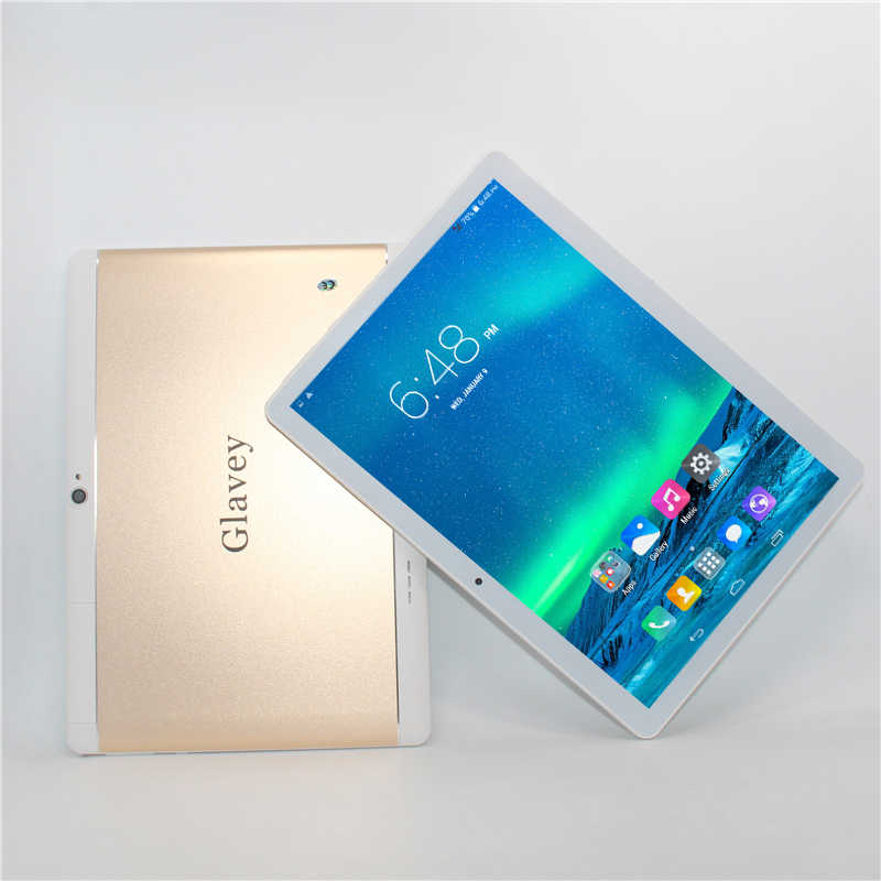 "10,1 ""MTK6582 3G teléfono llame a la tableta cubierta de Metal IPS Android 6,0 quad core + dual sim + gps + Linterna + bluetooth + 1G/16G + 5000mAh + wifi"