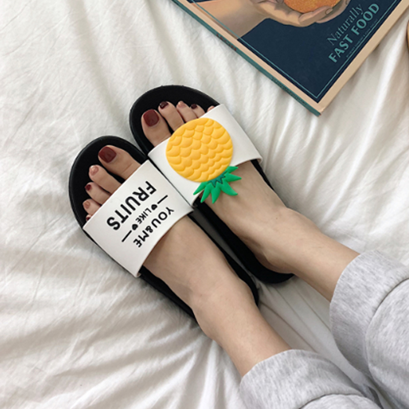 Torridity 2019 New Arrivel Women Slippers Beach  Flops Home Slippers Fashion Lovely Female Casual Slip On Fruit Woman SlidesTorridity 2019 New Arrivel Women Slippers Beach  Flops Home Slippers Fashion Lovely Female Casual Slip On Fruit Woman Slides