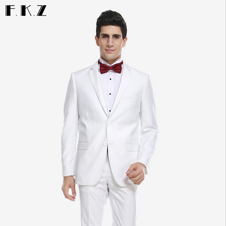 New arrival wool mens suits wedding groom for man forma for Mens ivory dress shirt wedding