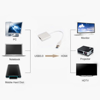 5 0 Gbps HD 1080P USB 3 0 To HDMI External Video Graphic Card Multi Display