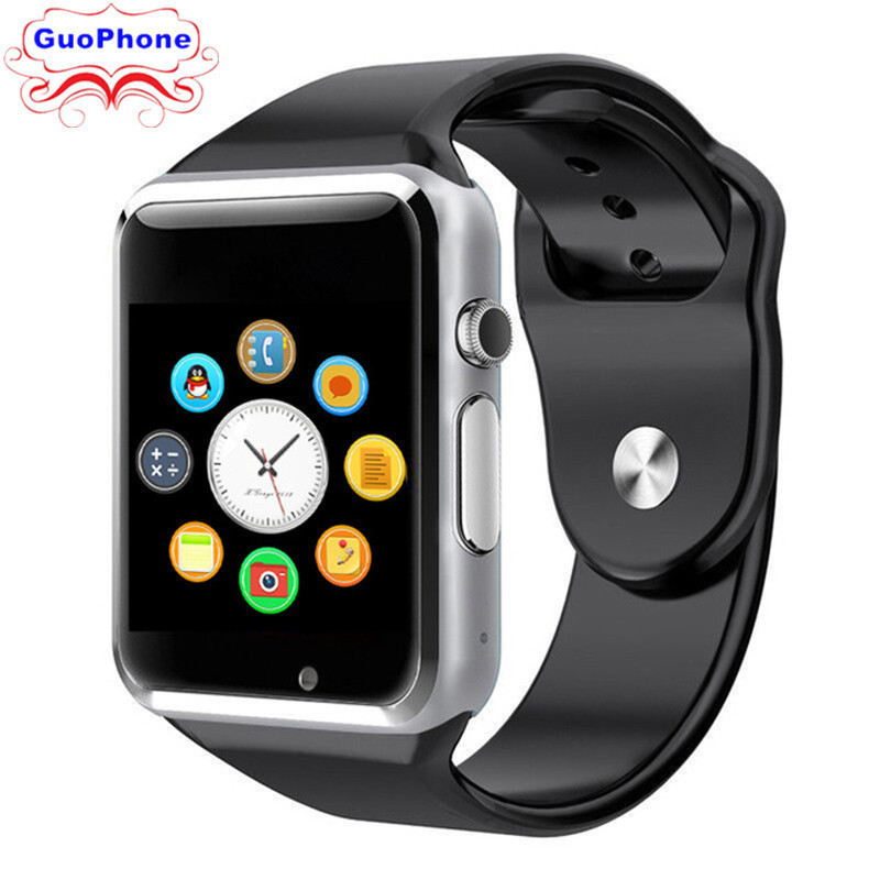 A1 1.54 Touch Screen SmartWatch Phone Camera Bluetooth SIM Card Children Cartoon Fashion Sport Cheap CellPhone