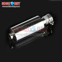 Stainless Steel Muffler Length 107mm Inner Dia 14mm For 23 35CC Gas Engine 90A Or More