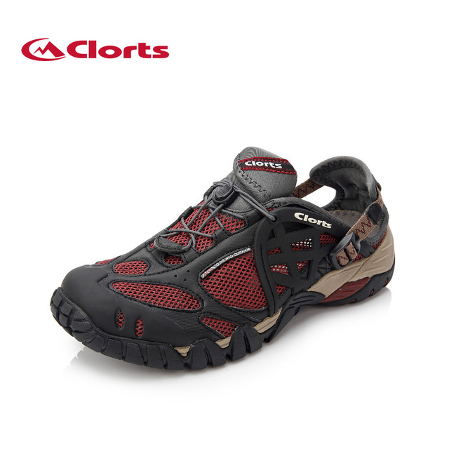 270571ca459c 2019 Clorts Mens Water Shoes Summer Outdoor Beach Shoes Breathable Aqua  Shoes Quick-dry PU