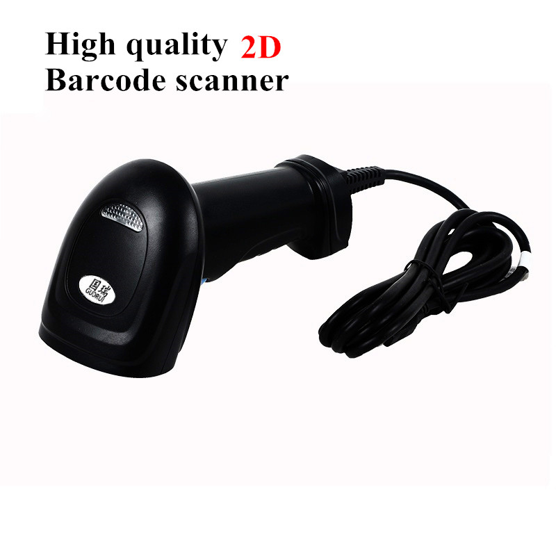M3 2D portable barcode scanner handheld USB laser barcode reader scanner for mobile payment PC screen scanner. Free shipping