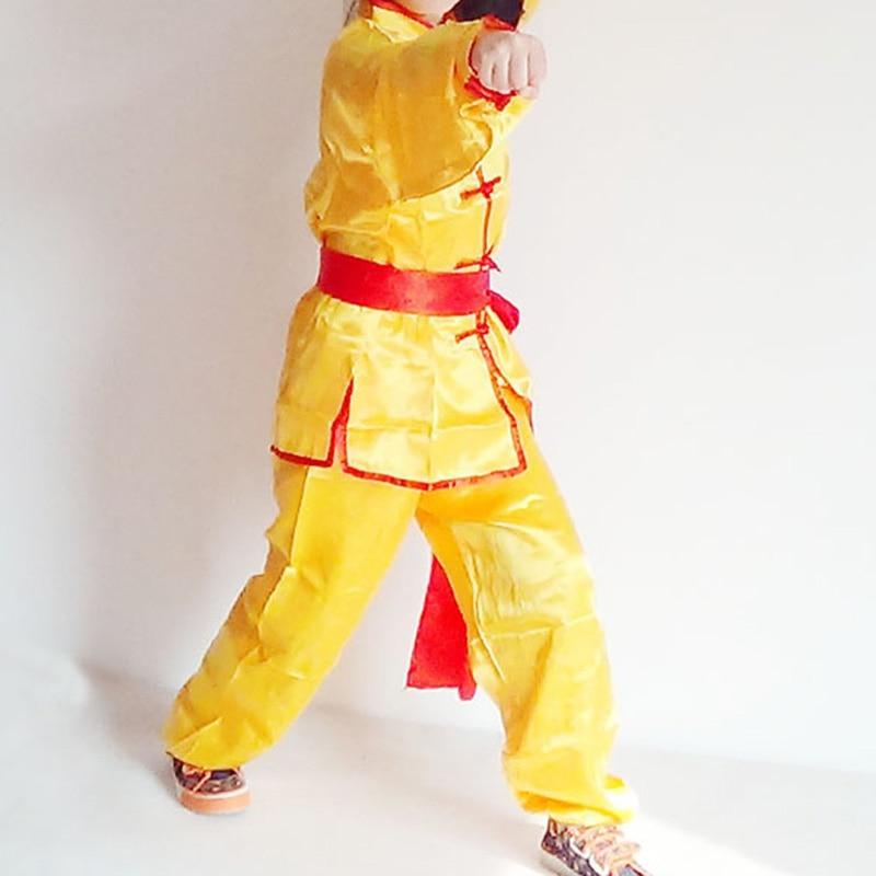 Genereus Ejqyhqr Zomer Mannen En Vrouwen Training Pak Tai Chi Kleding Uniform Wushu Kung Fu Art Botton Prestaties Lange Mouw Kostuum Tuur 100% Garantie