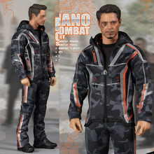 Custom For 12 Inches TTM21 Body Male Action Figures1/6  DJ-011 Tony Nano Battle Casual clothes Avengers Movie