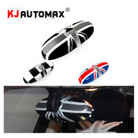 for Mini Cooper Interior Rearview Mirror Cover Cap Decoration Car Styling Accessories MK1 MK2 R50 R52 R53 R55 R56 R57 R58 R60