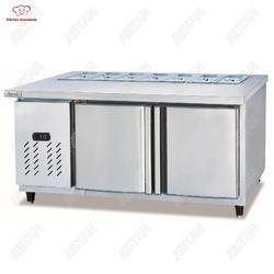 Таблица холодильника пиццы счетчика дисплея салата TS1500/1800